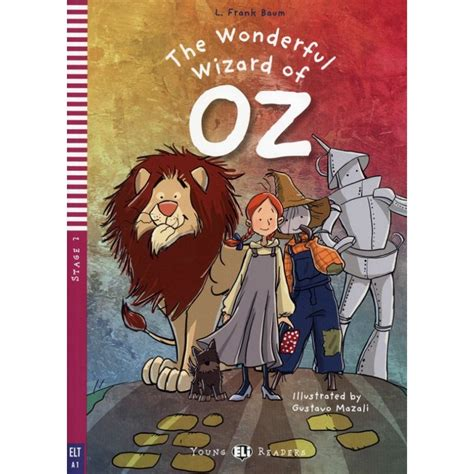 libro stories of wizards and the wonderful wizard of oz stage 2 a1 livre cd enfantilin