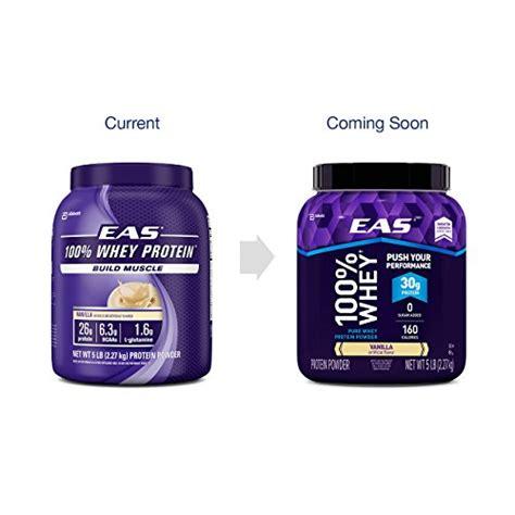 protein 30 grams eas 100 whey protein powder vanilla 5 lb 30 grams