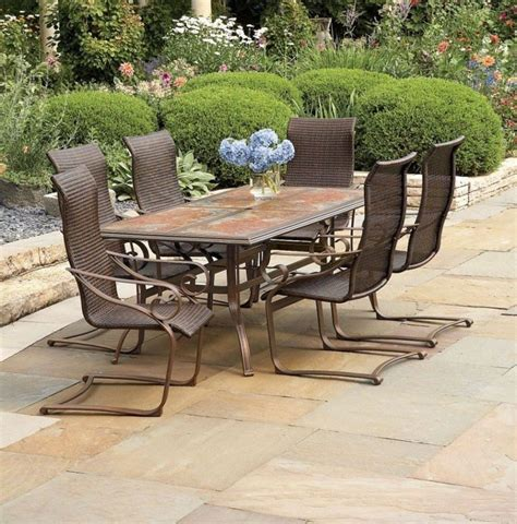 Patio Furniture On Clearance Furniture Patio Dining Set Target Patio Acacia Wood Outdoor Patio Furniture