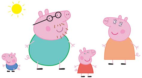 Peppa Pig Clipart Images pig family clipart clipground