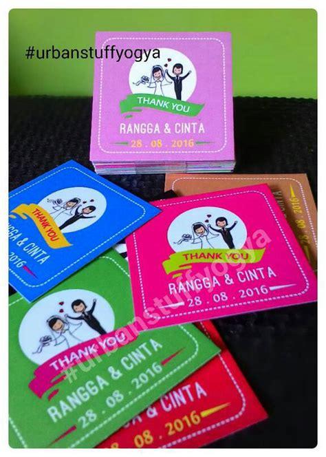 Kartu Ucapan Paskah Dari Dan Kepada Warna Ungu jual custom kartu souvenir wedding thanks card ucapan terima kasih stuff
