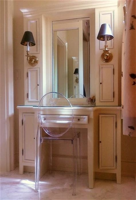 Built In Makeup Vanity Ideas by Pin By Parrish Built On Makeup Vanities Bath Closet