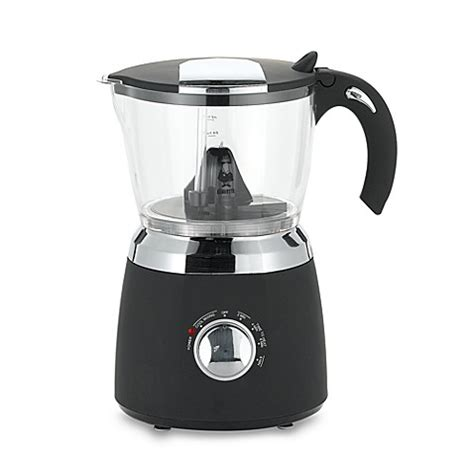 milk frother bed bath and beyond buy bialetti 174 hot chocolate maker from bed bath beyond