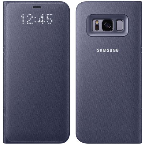 Samsung Original Cover For Galaxy S8 Led View Cover Casing Ori S 8 original samsung galaxy s8 led view flip tasche cover schutzh 220 lle ef ng950