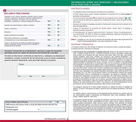 Modelo Curriculum Vitae Tripulante Cabina Pasajeros Formato De Declaraci 243 N De Aduana Para Pasajeros Los Impuestos