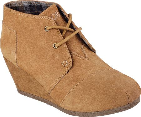 Wedges Boots Skechers Bobs Ori 100 womens skechers bobs high notes behold wedge ankle boot