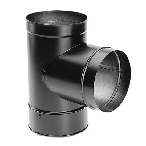 Chimney Pipe Duravent Pelletvent 3 In With Clean Out Cap 3pvl T