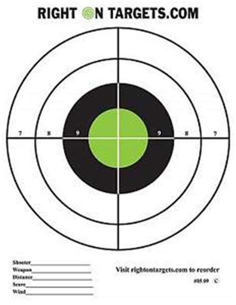 free printable targets 8 5 x 11 150 black and green bullseye shooting targets 3 8 5x11