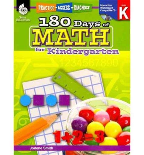 180 days of math for kindergarten jodene smith