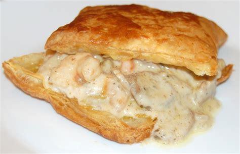 seafood pot pie shrimp and andouille potpies recipe dishmaps