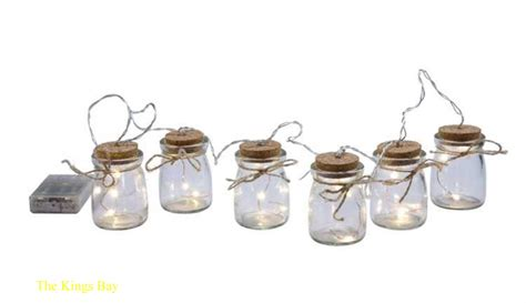 firefly lights copper wire lights firefly led light string on small bottles copper wire