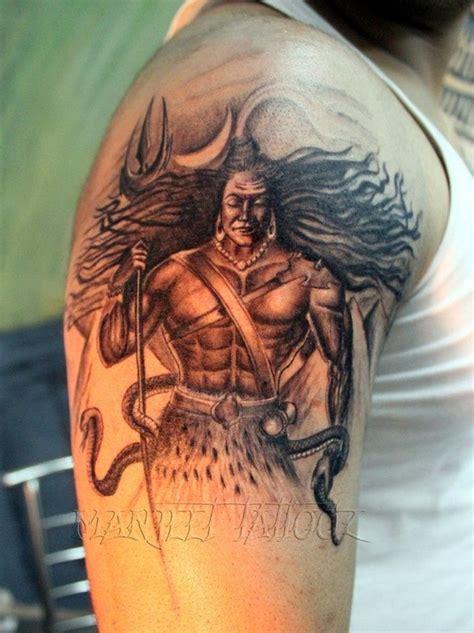 body tattoo of lord shiva lord shiva tattoo manjeet tattooz