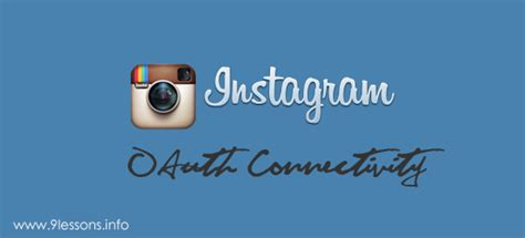 tutorial id instagram login with instagram oauth using php