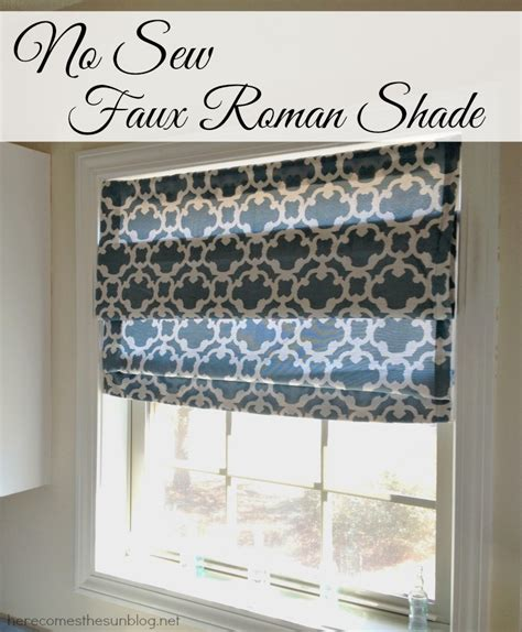 simple pattern for roman shades roman shades diy no sew diy projects