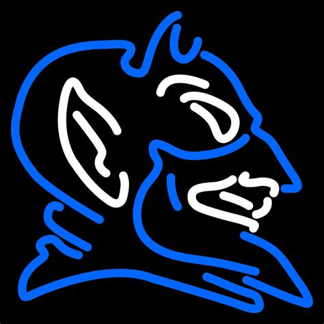 Kaos Trust In Duke Blue ncaa duke blue devils logo neon sign and 50 similar items