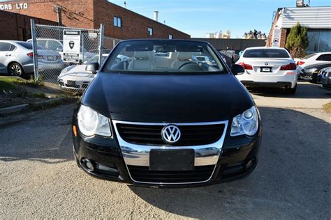 used volkswagen eos convertible manual 2008 eos convertible manual for sale floreal 2008 volkswagen eos 2 0t convertible 6 speed manual brton ontario used car for sale