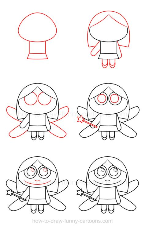 how to draw a fairy how to draw a fairy