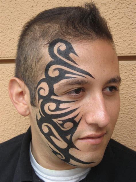 tribal pattern face paint tribal 2010 by ronniemena on deviantart