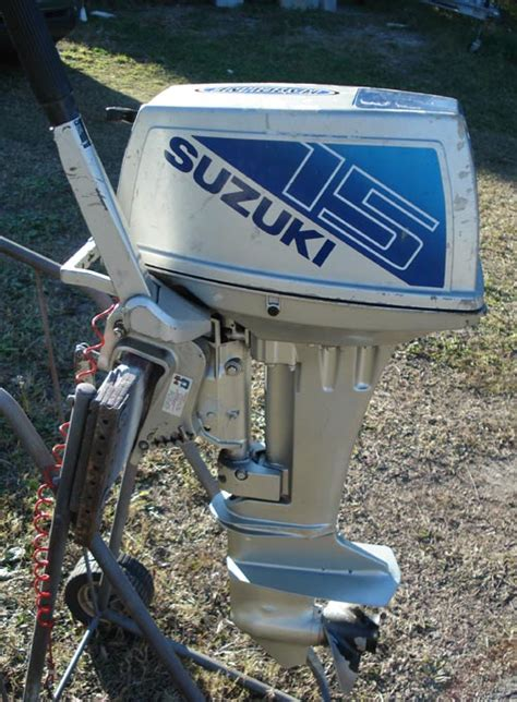 Used Suzuki Outboard Parts For Sale Used Suzuki 15 Hp Outboard Boat Motor Suzuki Outboards