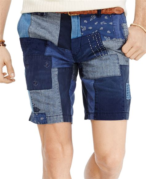 Ralph Patchwork Shorts - polo ralph fit maritime patchwork shorts