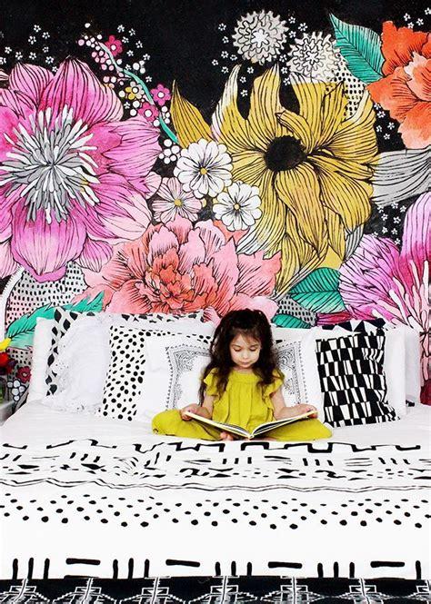 fashion wall murals 25 best ideas about flower mural on mural ideas mural wall and painted wall murals