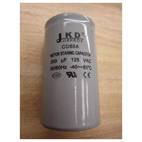 jkd capacitor jkd cd60a motor starting capacitor new no box mara industrial