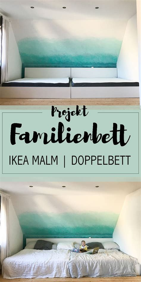 Familienbett Malm by Projekt Gro 223 Es Familienbett Wohnen Deko