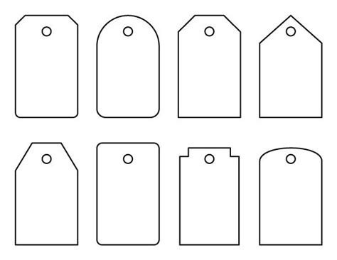 tags for gift bags template luggage tag pattern these could also be used as gift tags