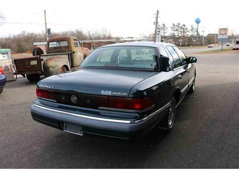 automotive air conditioning repair 1994 mercury grand marquis parking system 1994 mercury grand marquis for sale classiccars com cc 1043993