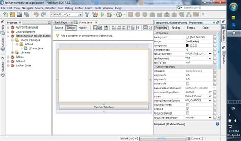 membuat tab html soeryatama group tutorial membuat tab dengan event tombol