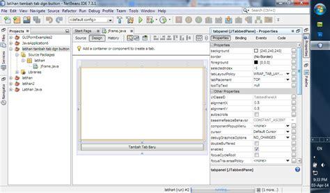 membuat website event soeryatama group tutorial membuat tab dengan event tombol