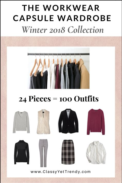 Workwear Wardrobe by The Workwear Capsule Wardrobe Winter 2018 Collection
