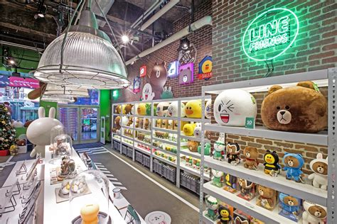Line Opens Its Line Friends Pop Up Store In