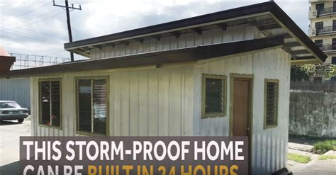 storm proof house design for sale bahay tibay php145 000 storm proof house in the philippines
