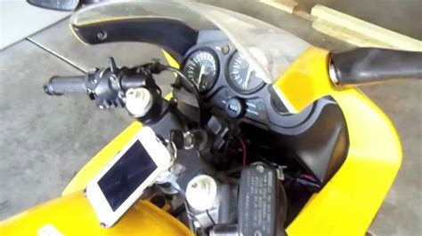 how to install an hid headlight in a cbr 600 f3