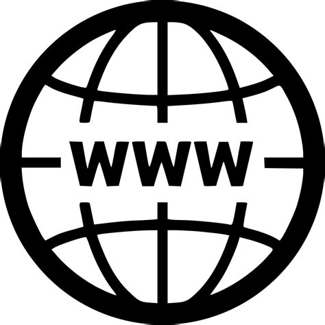 world wide web globe network svg png icon