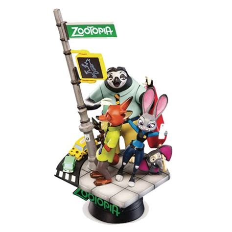 D Select 001 Zootopia zootopia d select series ds 001 6 inch statue px beast kingdom zootopia statues at