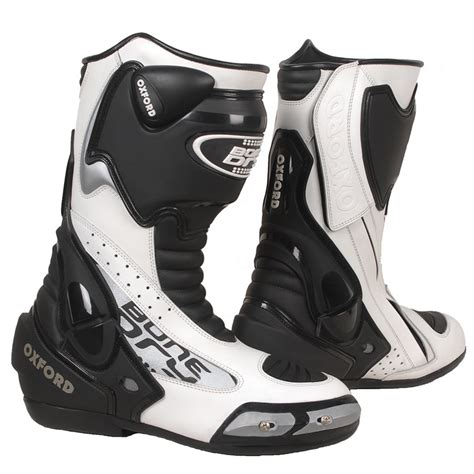 motorcycle track boots oxford bone r9 sports hipora waterproof motorcycle