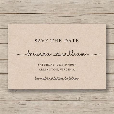 save the date cards templates save the date printable template editable by you in word