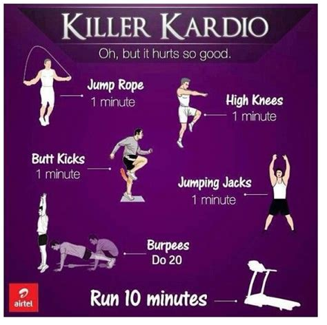 killer kardio workout cardio workouts