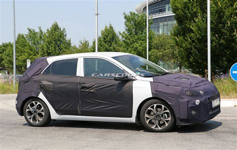 hyundai scoop scoop hyundai testing updated i20 subcompact to challenge