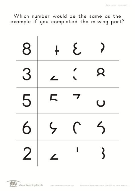 Free Visual Perception Worksheets by Visual Perceptual Skills Builder Level 1 All 700 Worksheets