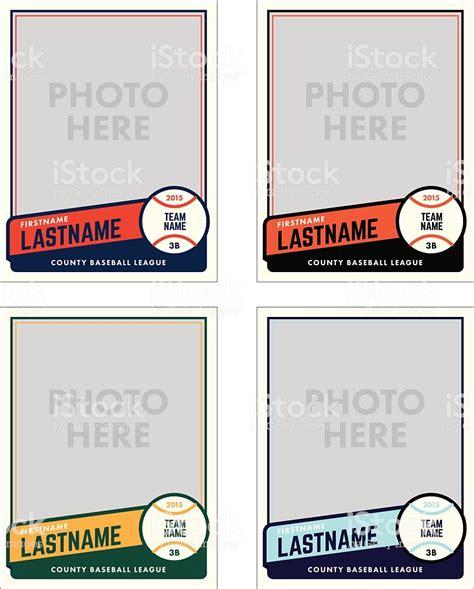 野球カードベクトルテンプレート のイラスト素材 466617180 Istock Cards Photo Template Free