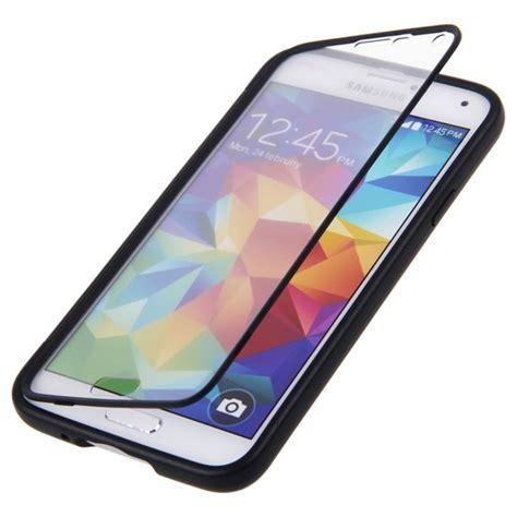 Flip Cover Hello Samsung Galaxy S5 Flip Cover Custodia Portafoglio Tpu Silicone Per Samsung