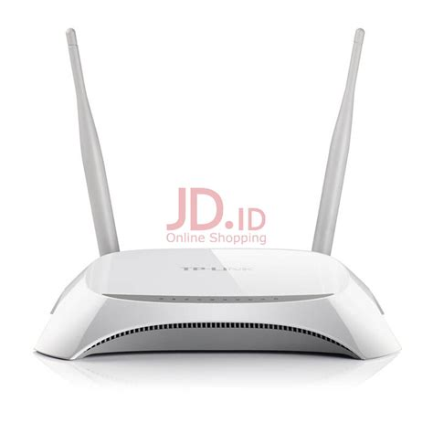 Jual Wifi Router Tp Link Mr3420 jual tp link tl mr3420 wireless n router putih jd id
