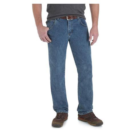 Wrangler Reguler wrangler rugged wear s regular fit jean 670514 at sportsman s guide