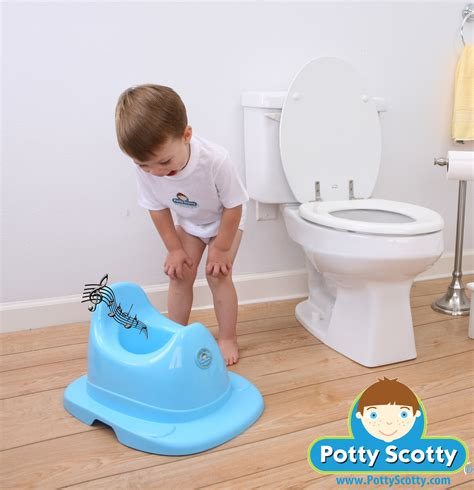 how to a to potty musical potty chair for boys by potty scotty potty scotty