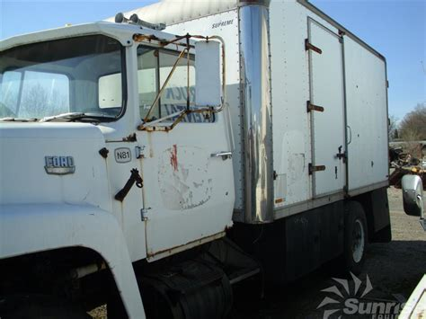 ford  supreme insulated van body
