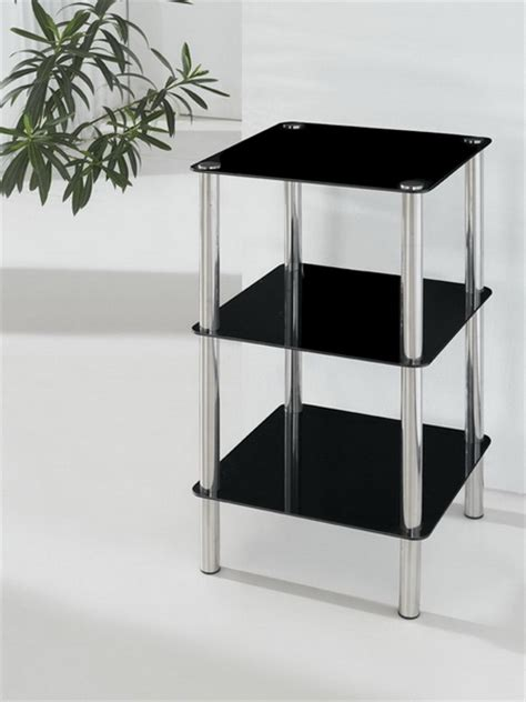 glass bathroom stand 3 tier square glass stand coffee table bathroom