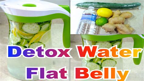 Detox Water How To Use by How To Make Detox Water Infused Water Flat Belly